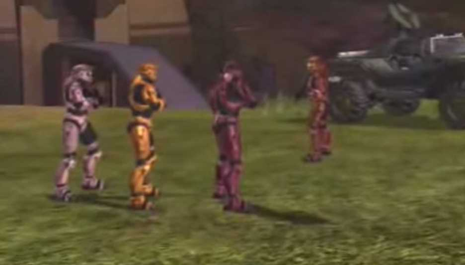 Halo 3 Red Vs Blue Skit Proves To Be Funny