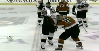 Senators And Flyers Brawl That Cleared Benches In 2004