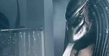 Alien vs Predator Shower Prank Proves Funny