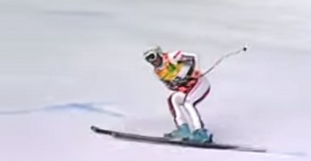 Slalom Gate To The Groin Leaves Skier In Pain
