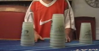 Sport Cup Stacking World Record