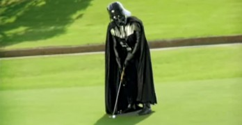 Golfing with Darth Vader
