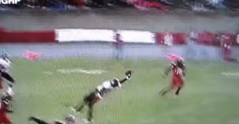 Awesome Football Catch