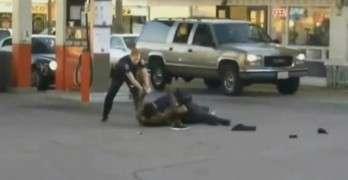 Shocking Police Action