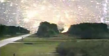 Massive NASA Rocket Explosion After Launch