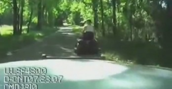 Dumb Drunk Redneck Pulled Over Riding Mower