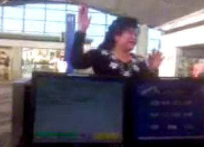 Woman Goes Insane After Missing Flight