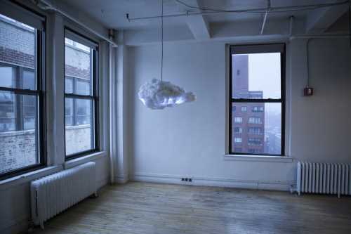 Need Some Light? Cloud Lamps Might Work