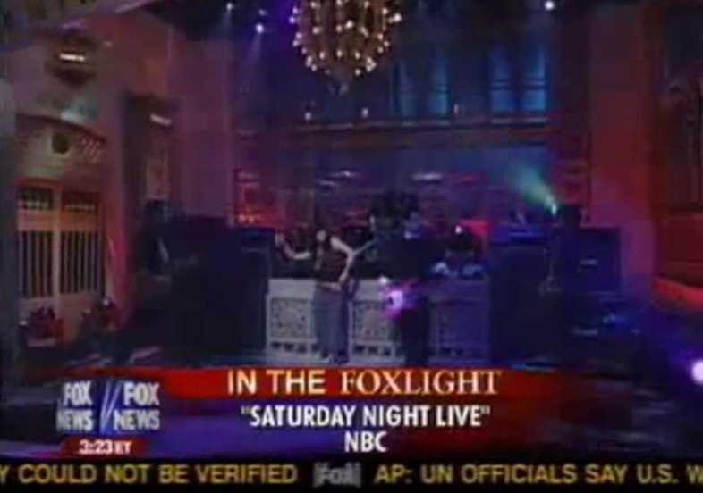 Ashlee Simpson SNL Lip Synching Screwup