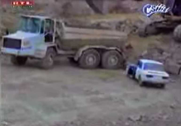 Employee Gets Revenge By Crushing Boss's Car
