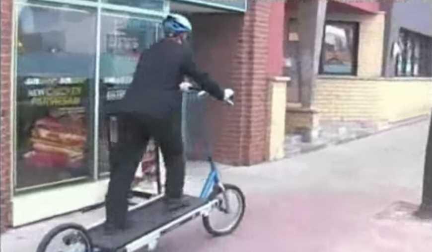 The Treadmill Bike Invention Wins Major Award