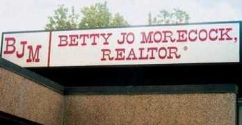 Betty Jo Morecock Sells Property If You Didn't Know