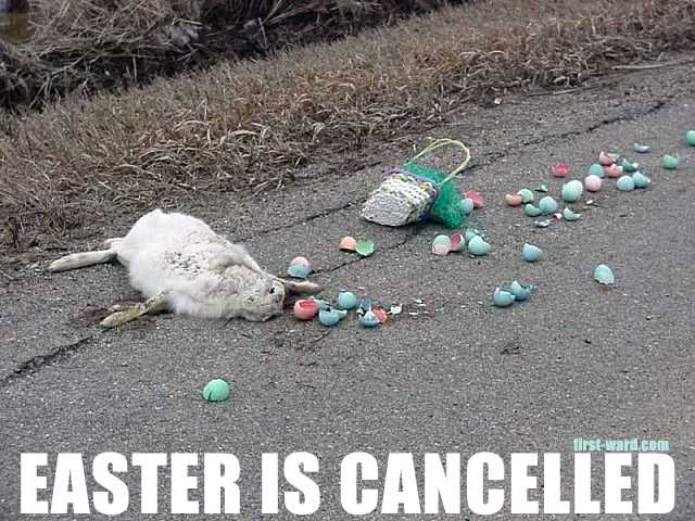 Easter Is Cancelled Meme