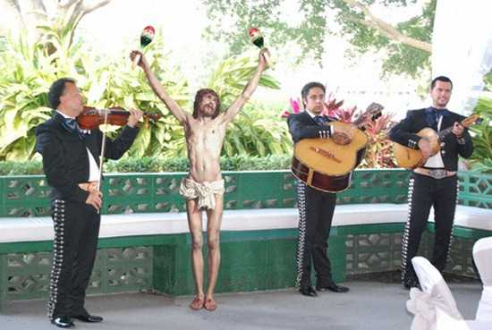 Jesus Doing Funny Things