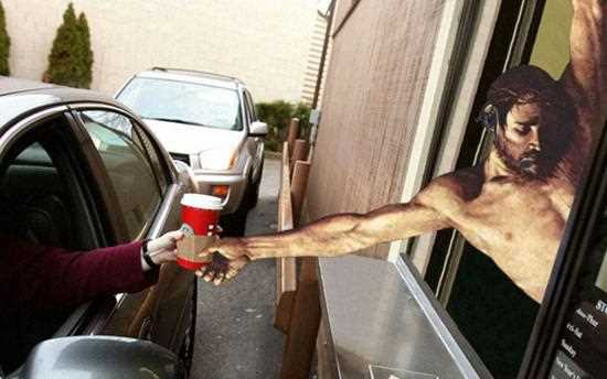 Jesus Doing Funny Things Everyday