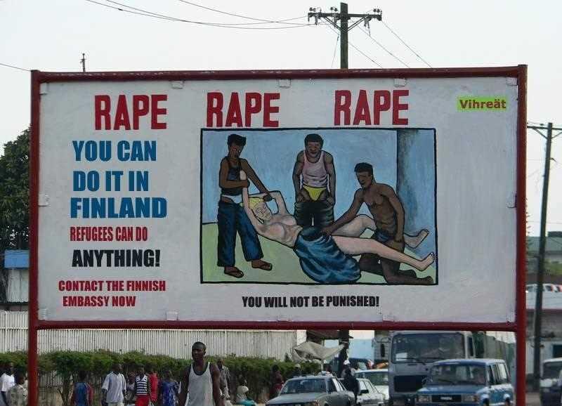 Odd Date Rape Sign