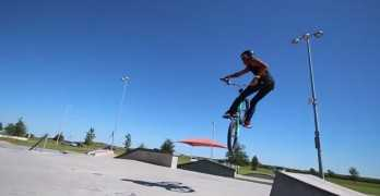 Paul Shariff BMX Freestyle Video