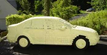 Post It Car Prank Using Thousands Of Post It Notes