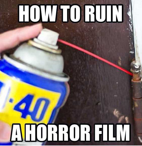 How To Ruin A Horror Movie Meme