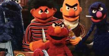 Sesame Street Gangsters For Life