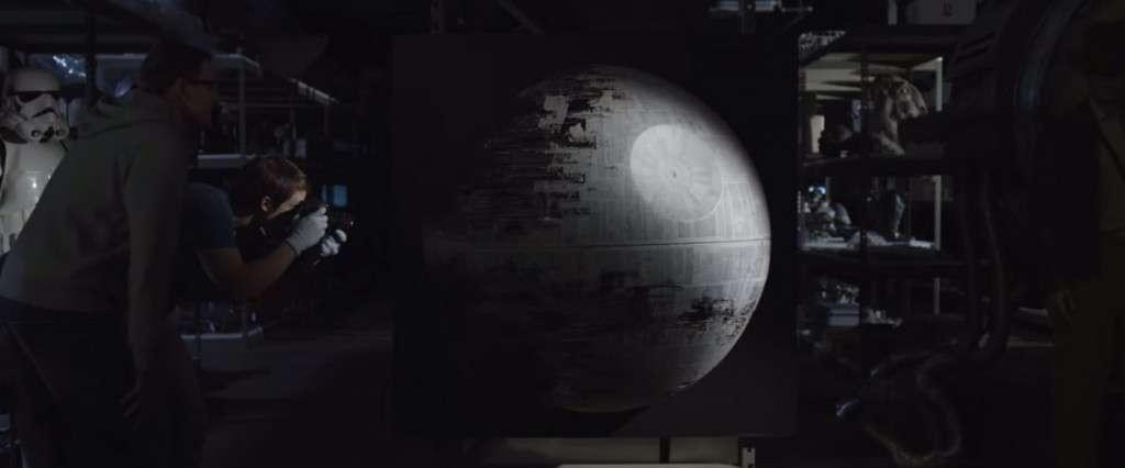 Dice Star Wars Battlefront Trailer Death Star