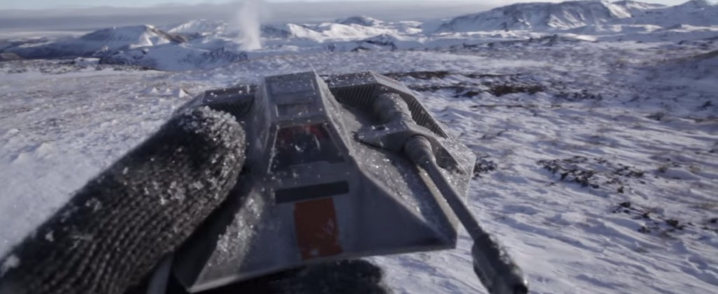 Dice Star Wars Battlefront Trailer Hoth