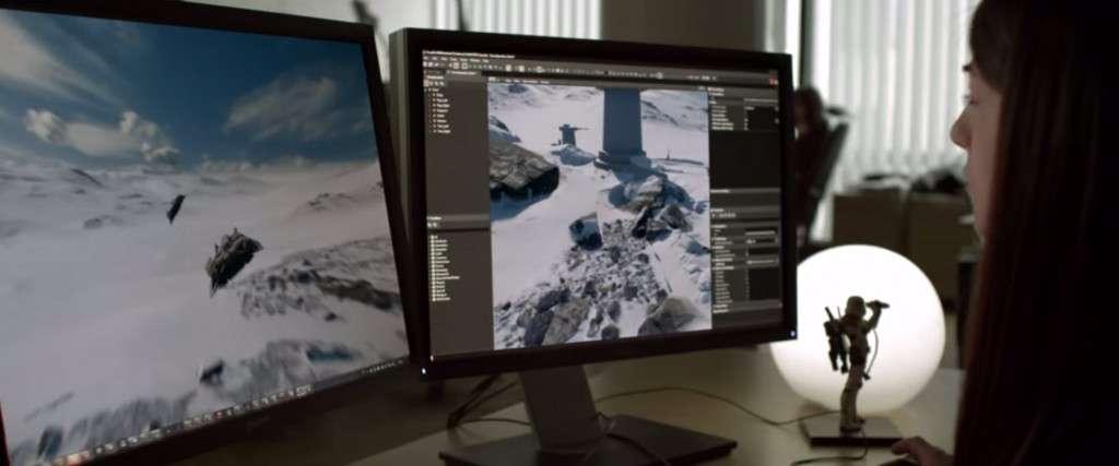 Dice Star Wars Battlefront Trailer Planets