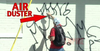 Graffiti Cop Prank Leaves These Guys Feeling Duped