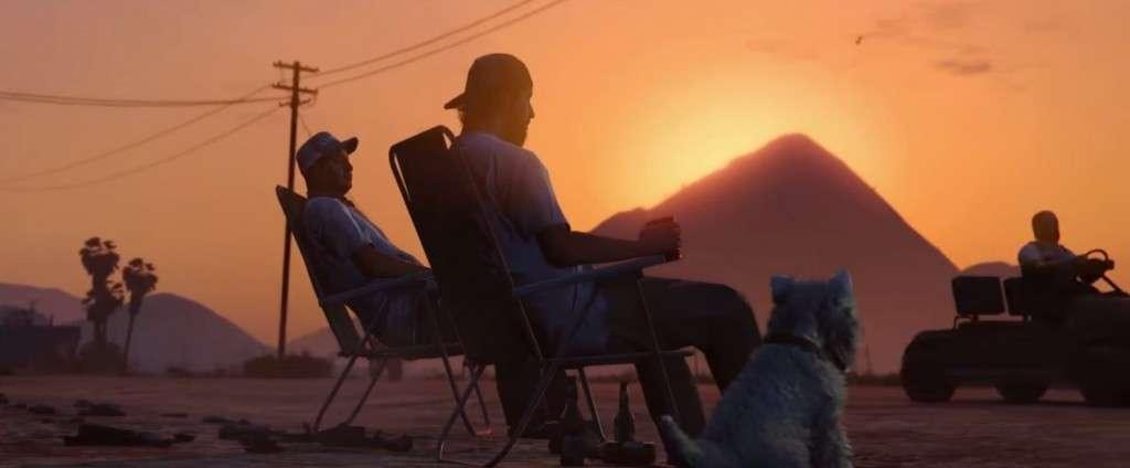 GTA V Launch Trailer Sunset