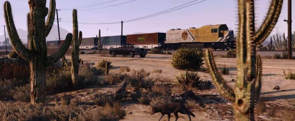 GTA V Launch Trailer Train