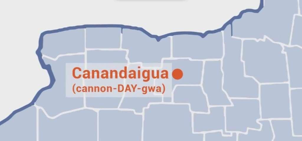 Pronounce Canandaigua NY