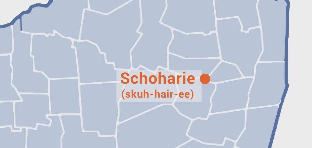 Pronounce Schoharie NY