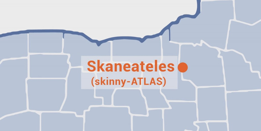 Pronounce Skaneateles NY