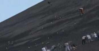 Mountain Bike Crash On Mountain At 105 MPH