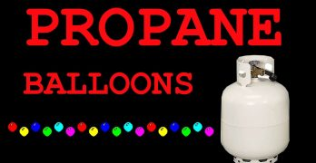 Balloons with Propane