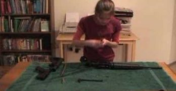 11 Year Old Girl Sets AR15 Stripping Record